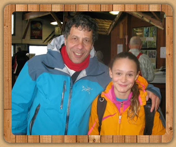 Hal met with Logan Williams Skiing at Catamount ski area